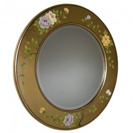 Miroir laqué or chinois