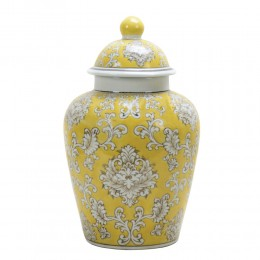 Chinese General Jar en jaune