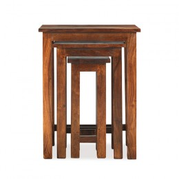 Jali Chunky Nest of 3 Tables