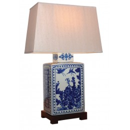 Tableau Chinois Lampe Tableau (Paire)