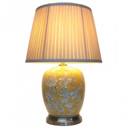 Lampe de table chinoise Melon Jar (Paire)