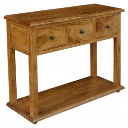 Provence console fruitwood