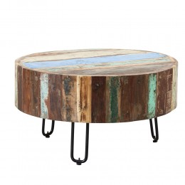 Coastal Table Basse Tambour