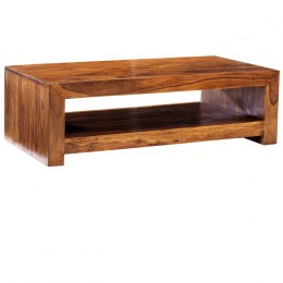 Cuba Cube table de Sheesham