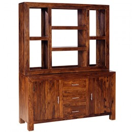 Cuba Cube sheesham commode