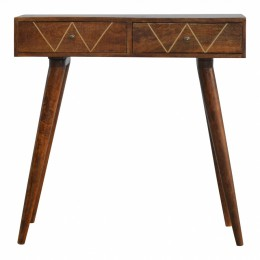 Artisan Table console 2 tiroirs