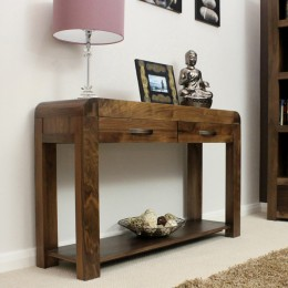 Shiro console en noyer
