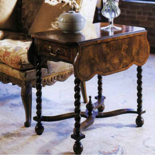 Table noyer william & mary